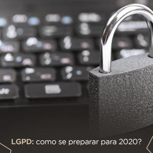 Imagem de computador com cadeado simbolizando a proteção de dados na internet